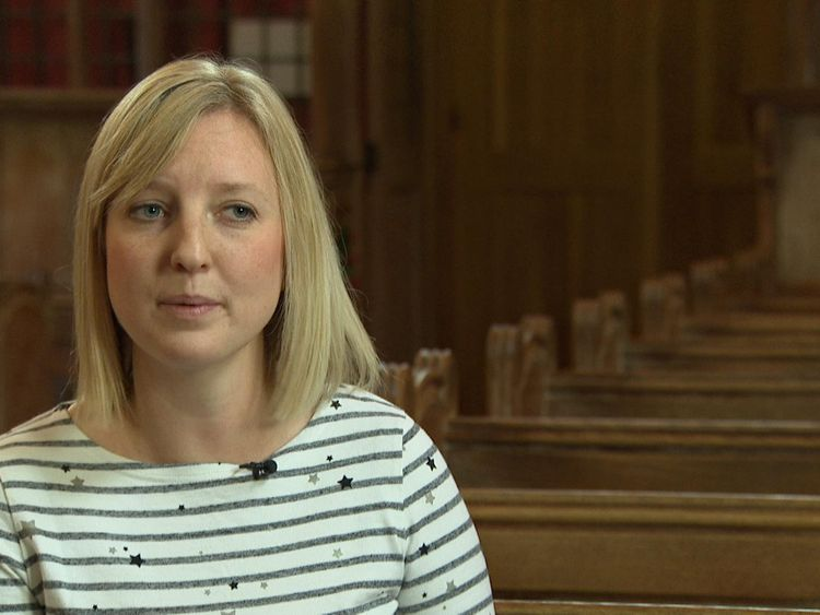 Laura Collingridge, 30, is an ordinand (trainee vicar)at Wycliffe Hall