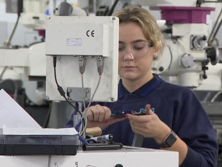 Almost half of young people are not interested in learning manufacturing skills