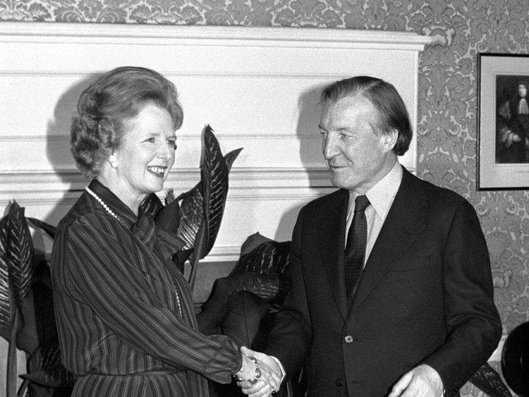 "Margaret Thatcher had an ""unusally tense"" meeting with the Irish leader Charles Haughey after the murders"