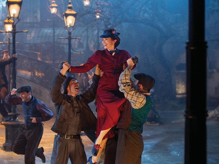 Mary Poppins' return is 'a gift in dark times'
