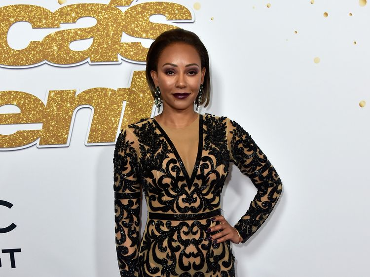 "Mel B, Melanie Brown, attends the ""America's Got Talent"" Season 13 Live Show at Dolby Theatre on August 14, 2018 in Hollywood, California."