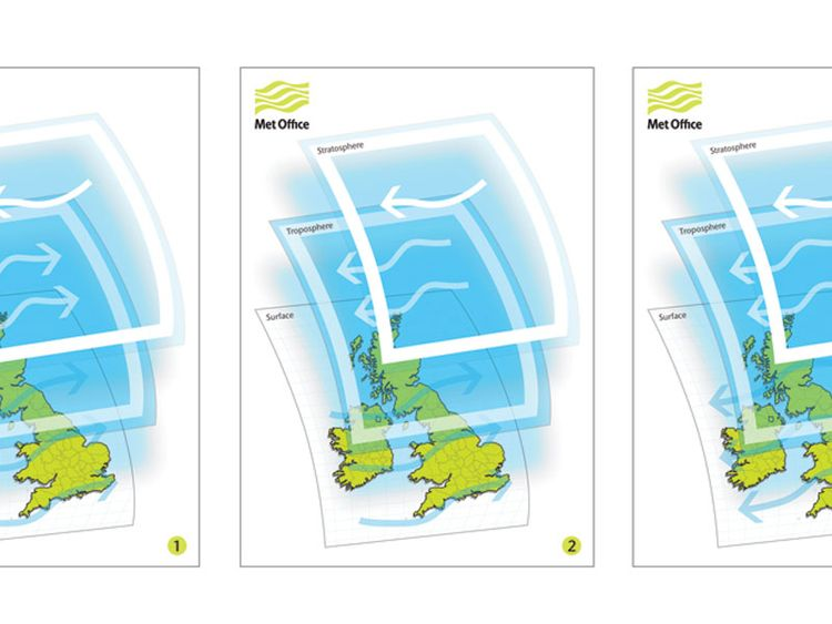 SSW greatly increases the risk of wintry weather. Pic: Met Office