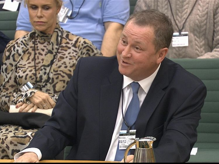 Mike Ashley calls for online tax to save the High Street