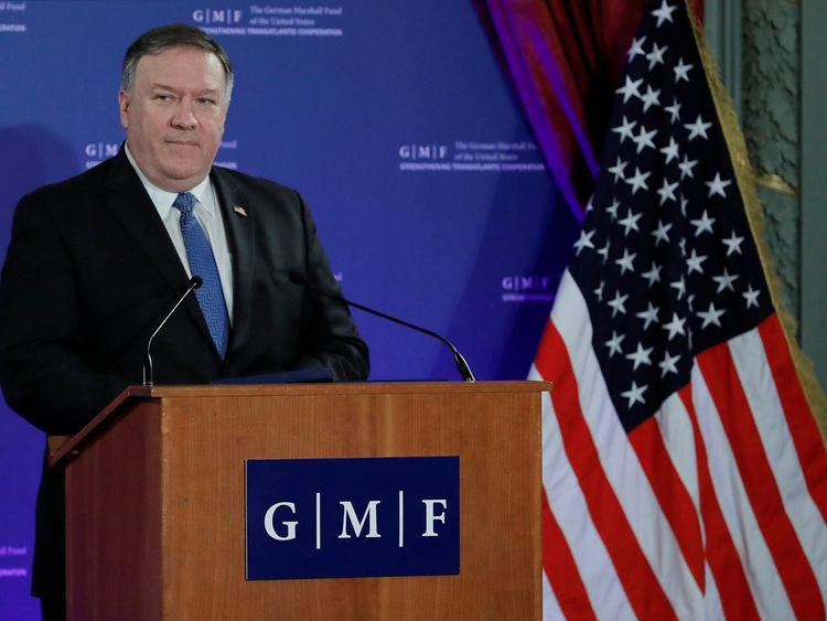 Pompeo says US  will suspend arms pact over Russia's 'cheating'