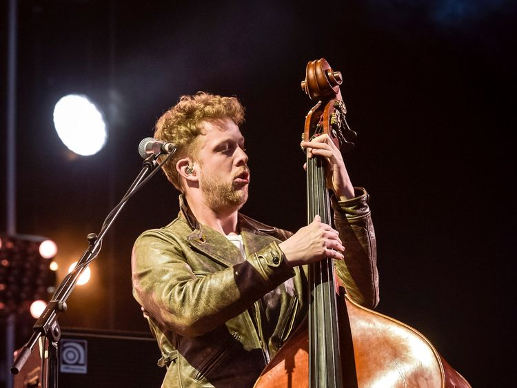 Mumford and Sons bassist Ted Dwane who has spoken of the loneliness of suffering from multiple sclerosis (MS)