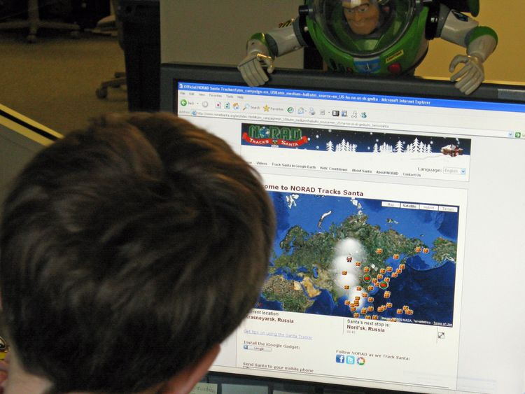 Last year NORAD Tracks Santa received 126,000 calls