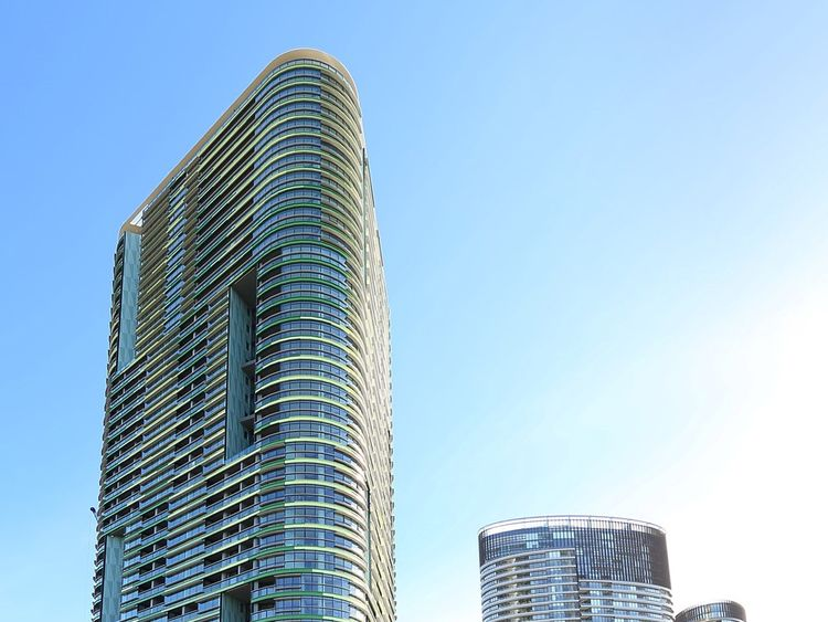 The Opal Tower has almost 400 apartments. Pic Opal Tower