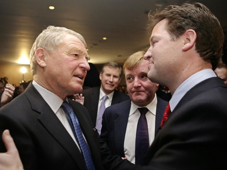 Lord Ashdown defended Sir Nick Clegg's decision to enter into coalition with the Conservatives