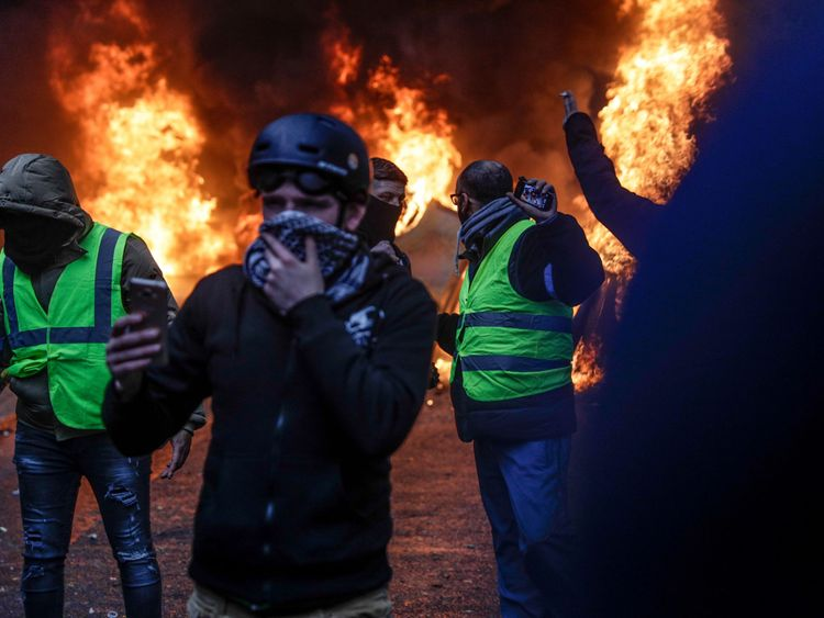 The Worst Riots In Generations Sparked In Paris. Here's Why