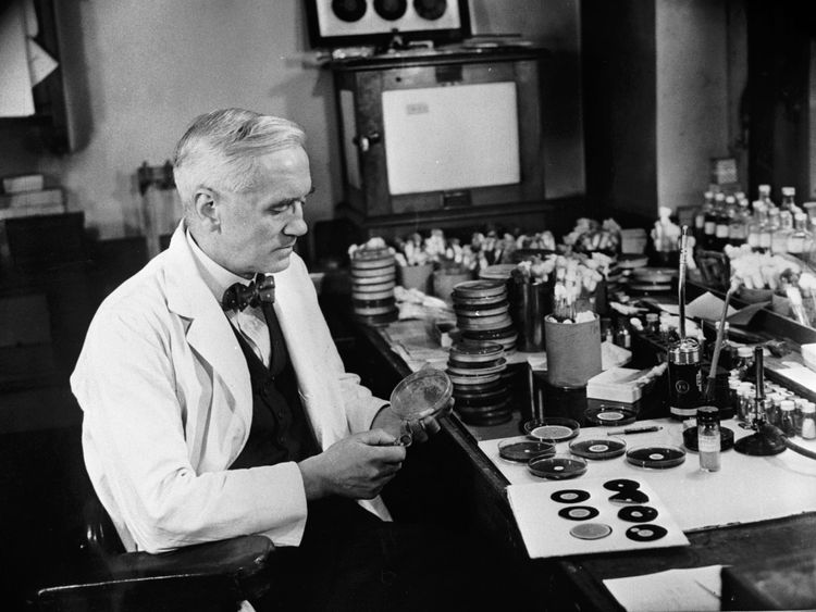 Penicillin was discovered by Alexander Fleming