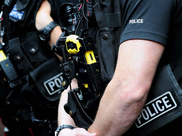 Police have revealed the ages of people Tasered sine 2016