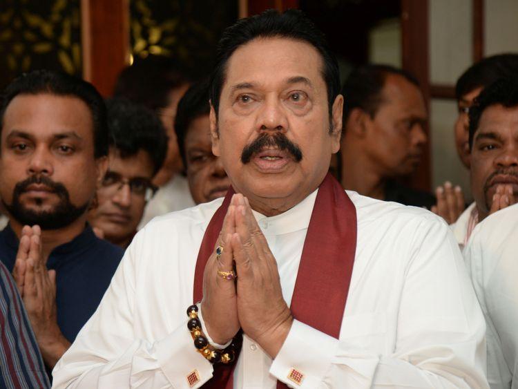The supreme court extended a court suspension of Mr Rajapaksa