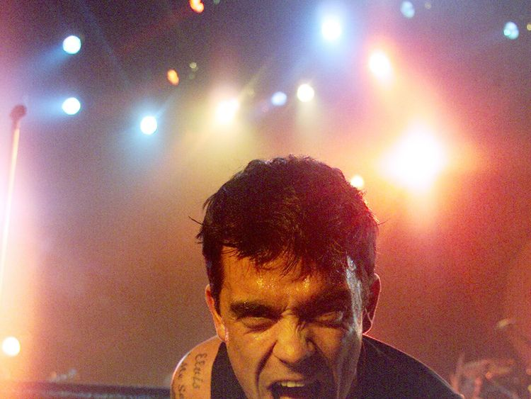 Robbie Williams (pictured in 2001) enjoyed a successful solo career following his departure from Take That