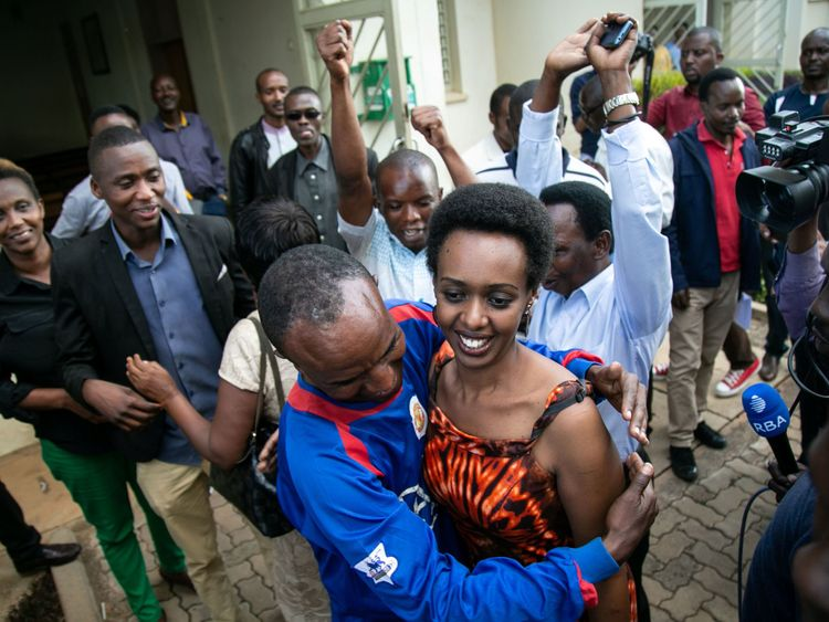 Diane Rwigara was found innocent today