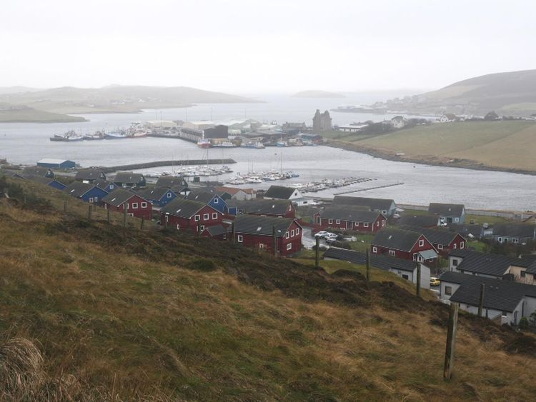 Fishermen in Shetland are unhappy with the state of Brexit talks