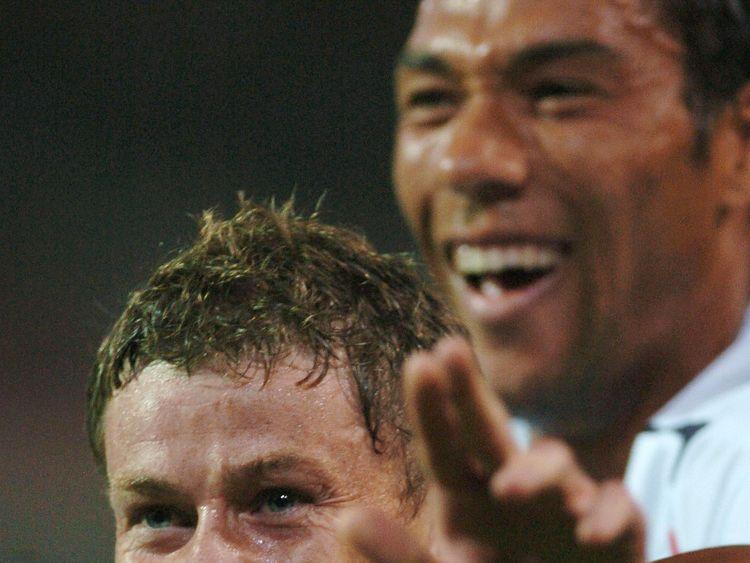 Solskjaer scored 126 goals in ten years for Man Utd