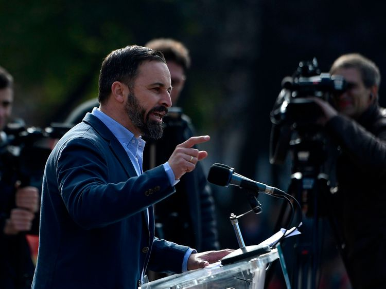 Abascal's party picked up 12 seats in the regional elections
