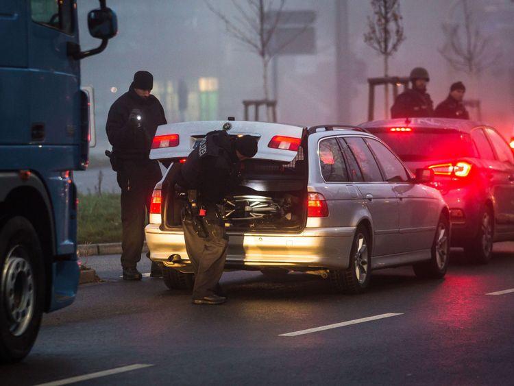 Christmas market terror attacker shouted 'Allahu Akbar'