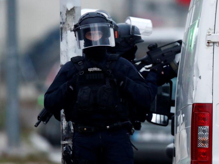 Strasbourg Christmas market gunman 'shot dead'