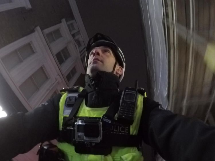 Stu, a police Sergeant with the City of London force
