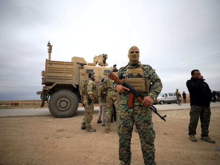 There are currently 2,000 US troops in Syria