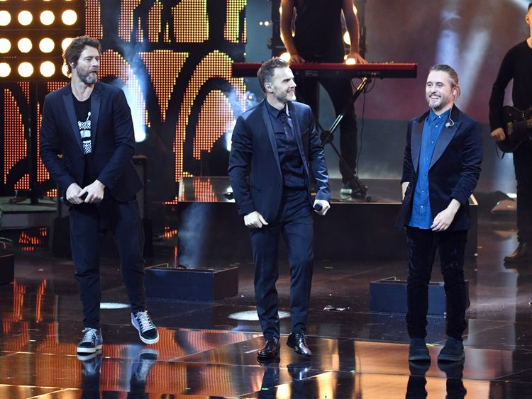 Take That will do the European dates only