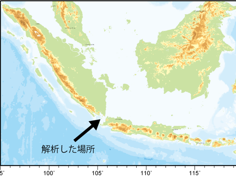 indonesia tsunami before and after images reveal dramatic volcano