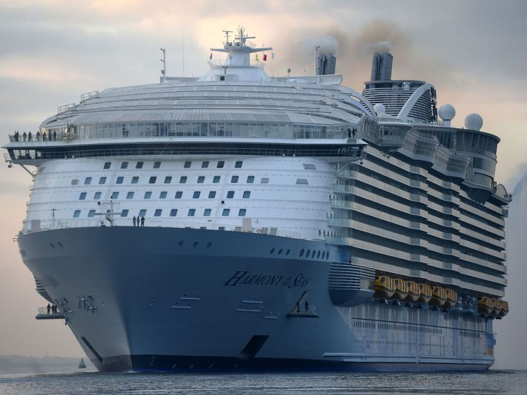 Harmony of the Seas, owned by Royal Caribbean