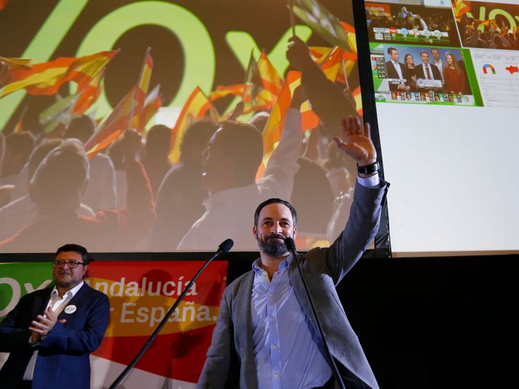 Far-right party surges in Spanish election