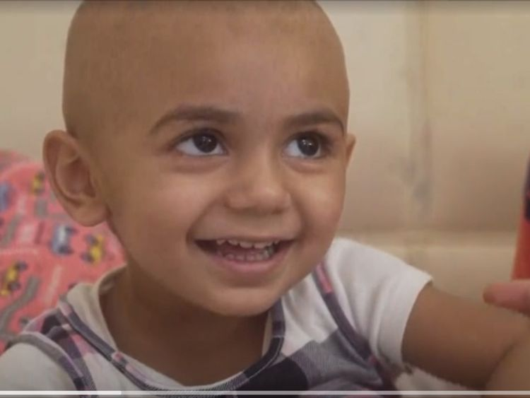 FL toddler battling cancer in need of extremely rare blood