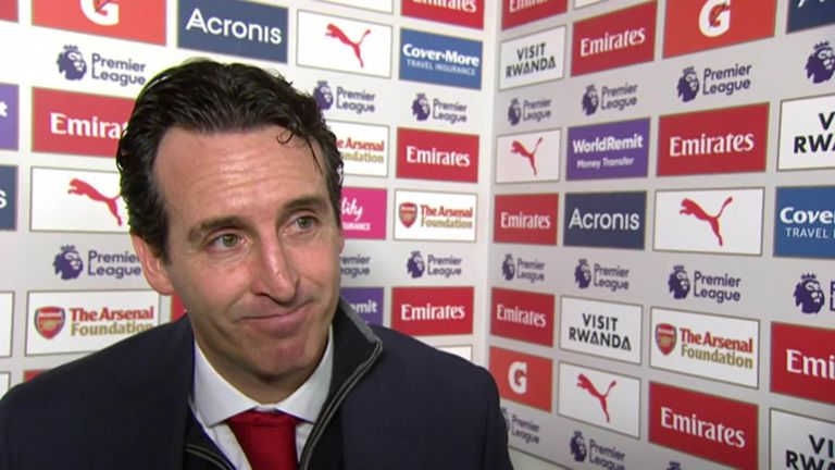Unai Emery happy with 'tough victory' for Arsenal against Huddersfield | Football News |