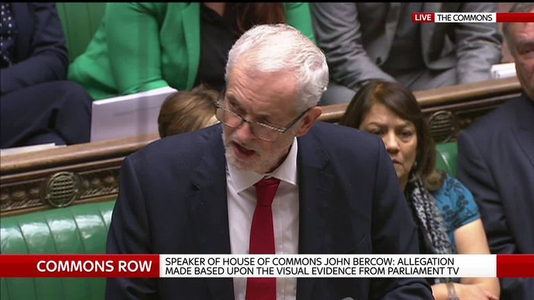 Jeremy Corbyn defends sexist comment