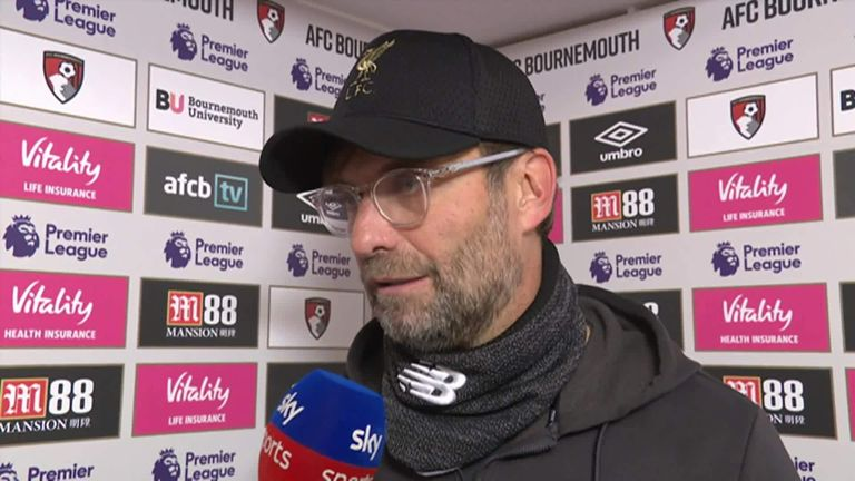 Jurgen Klopp says Mohamed Salah was absolutely brilliant in win at Bournemouth | Football News |