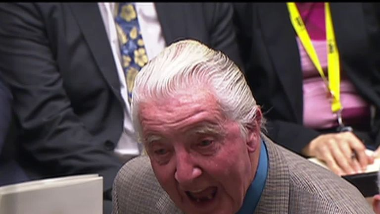 Dennis Skinner, Labour MP
