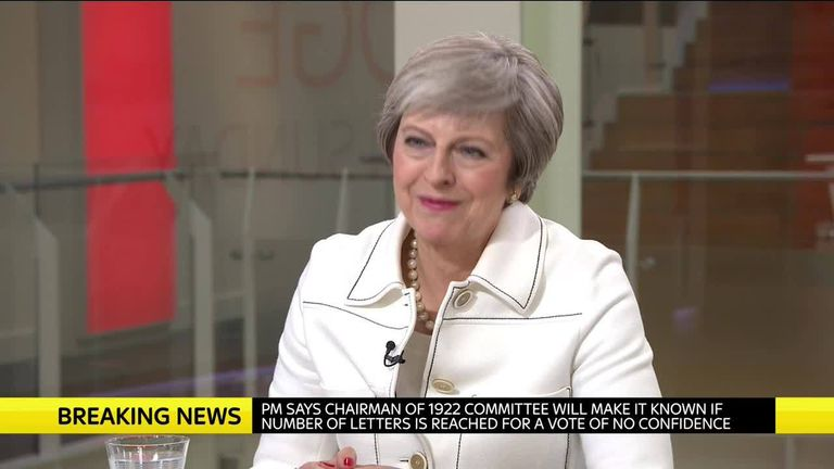 In full: PM on Sophy Ridge on Sunday