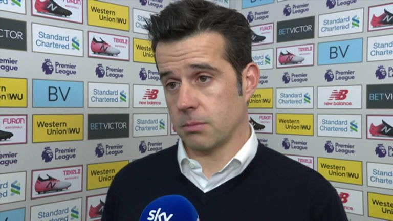 Marco Silva feels Merseyside derby defeat was harsh on Everton | Football News |