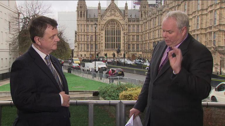 25a694b34 Sky s Adam Boulton interviews UKIP leader Gerard Batten
