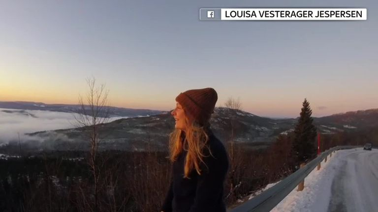 Louisa Vesterager Jespersen talks about her travel 'dream'