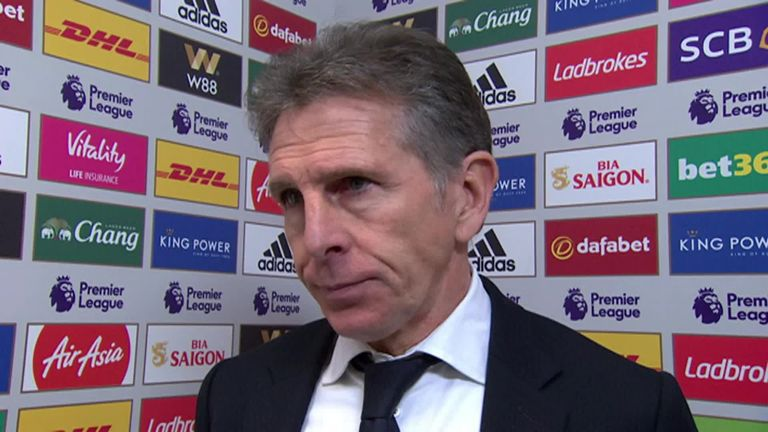 Leicester manager Claude Puel praises goalscorers Jamie Vardy and James Maddison | Football News |