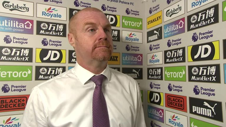 Sean Dyche says fear and trepidation is holding Burnley back | Football News |