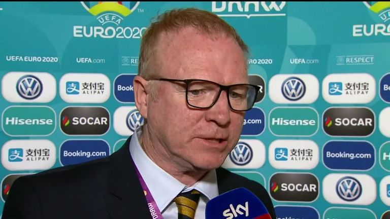 Alex McLeish says Scotland's Euro 2020 qualifying group has no pushovers | Football News |