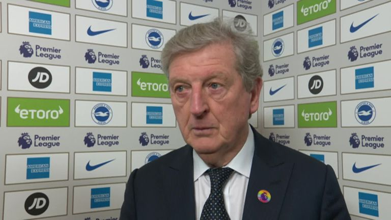 Roy Hodgson unhappy with penalty in Crystal Palace's defeat at Brighton | Football News |