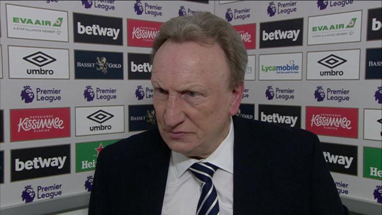 Cardiff boss Neil Warnock defiant after West Ham defeat | Football News |