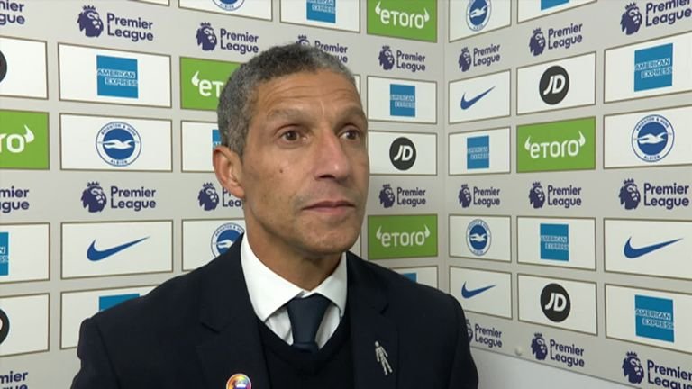 Chris Hughton hails Brighton after outstanding Crystal Palace victory | Football News |