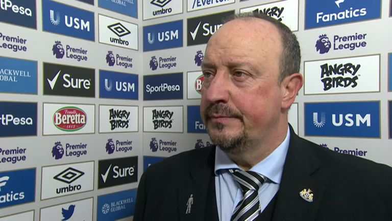 Rafa Benitez says Newcastle could have beaten Everton but happy with point | Football News |