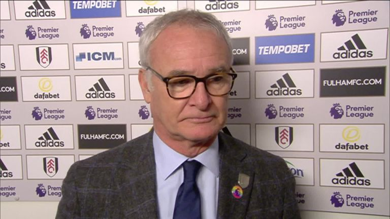 Claudio Ranieri pleased with Fulham's point against Leicester | Football News |