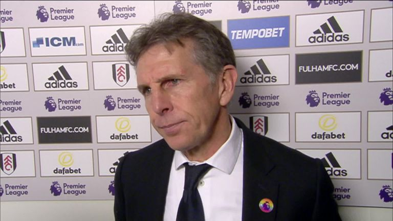 Claude Puel frustrated Leicester did not secure three points against Fulham | Football News |