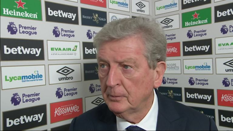 Roy Hodgson says Wilfried Zaha and James Tomkins' suspensions will be a 'massive blow' | Football News |