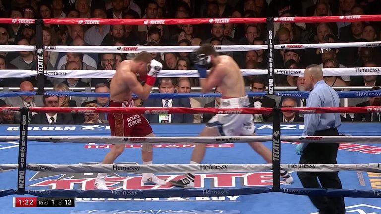 Alvarez vs Fielding: Saul 'Canelo' Alvarez stops Rocky Fielding in third round in New York | Boxing News |