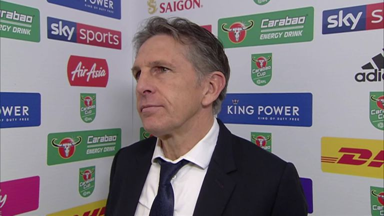 Puel rues 'harsh' penalty defeat